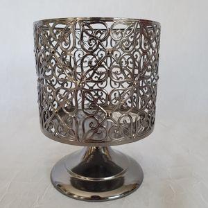Pewter Candle Pedestal